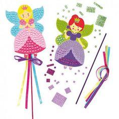 Fairy Princess Mosaic Wand Kits