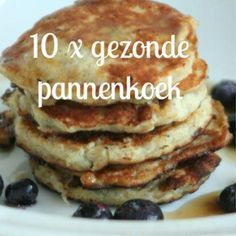 Not necessary if you process other flour, spreads or fruit and vegetables in confiscation. 10 x healthy pancake recipes www. Low Carb Breakfast, Breakfast Recipes, Pancake Recipes, Healthy Cooking, Healthy Snacks, Dessert, Sans Gluten, Food Inspiration, Love Food