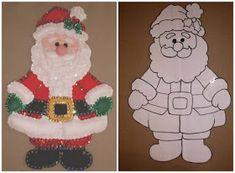 Felt Christmas Ornaments, Christmas Wood, Christmas Crafts For Kids, Christmas Projects, Christmas Themes, Holiday Crafts, Christmas Stockings, Christmas Decorations, Felt Crafts Patterns