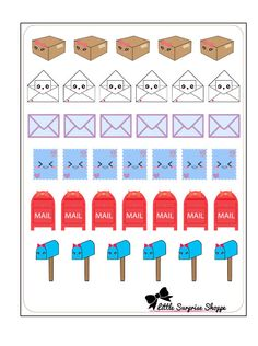 These cute stickers will help you stay organize and be on top of your planning game! Includes one sheet of glossy die-cut stickers Stickers vary in size Sticker sheet is approximately 4 x 3.5.  These stickers are non-removable and have a glossy texture.