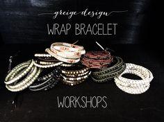 Wrap Bracelet Workshops – Greige Design
