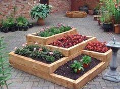 above ground garden idea...