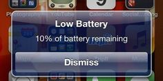 10 things you didn't realise were draining your phone's battery