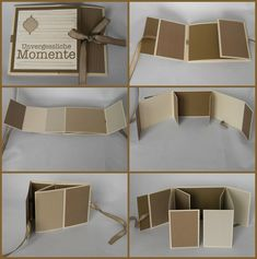 How to make a mini photo album – Artofit Mini Photo Albums, Mini Albums Scrap, Mini Album Scrapbook, Scrapbook Paper, Mini Album Tutorial, Baby Album, Exploding Boxes, Album Book, Handmade Books