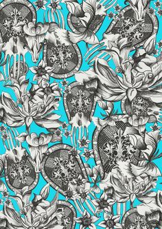 Florence Angelica Colson Printed Textiles and Surface Pattern Design | CURRENT COLLECTION
