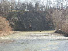 Some fly fishing at the Vermilion River!