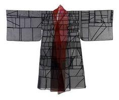 kimono pojagi por Jiyoung Chung