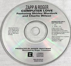 Zapp & Roger Shirley Murdock 1994 Computer Love 94 Mix Promo CD Music MT/NM OOP #FunkSoul1990sFunkHipHop