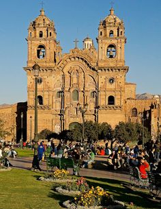 Cusco, Peru beautiful Chruch. The Incas architecture is so detailed. The church is one of the most seen place in Cusco.