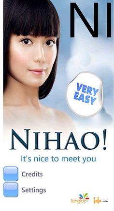 NIHAO - Chinese Langauage Course for #WindowsPhone. www.jojomobile.eu