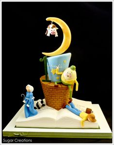 All of your favorite nursery rhyme stars are making an appearance in this Birthday Cake, created by Rebecca Sutterby of Sugar Creations. Nursery Rhyme Party, Nursery Rhymes, Gorgeous Cakes, Pretty Cakes, Amazing Cakes, Cupcakes, Cupcake Cakes, Cake Wrecks, Cake Blog