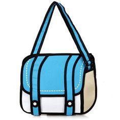 Aresland 2017 New Fashion woman bags 2d cartoon bag messenger Shoulder Crossbody bag Bolsa Feminina Bolsosde Ombro 3d Handbag