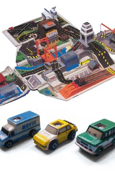 Micro Machines. One of my most favorite toys as a kid!! The fold down city.