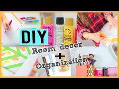 DIY Room Decor Tumblr Inspired! Easy & Affordable! - YouTube