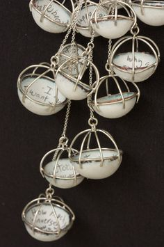 inspiration = Laura Elizabeth Mullen  (could something similar be done with paper & wire?)