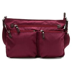 Osgoode Marley Zip Top Crossbody Cranberry -- Check this awesome product by going to the link at the image.