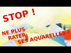 Démo aquarelle :les coquelicots (watercolor tutorial) - YouTube