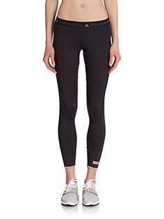 adidas by Stella McCartney - Logo Waistband Ankle Tights