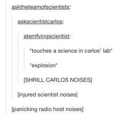 carlos the scientist science quote i dont know but im trying to find out okay - Google Search