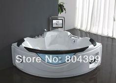 two seat acrylic bathtub with bathtub control panel New fashion and low price jet whirlpool bathtub B300 $1,834.00