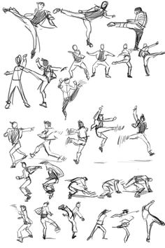 Marvelous Learn To Draw Manga Ideas. Exquisite Learn To Draw Manga Ideas. Body Reference Drawing, Action Pose Reference, Art Reference Poses, Action Poses, Gesture Drawing, Drawing Poses, Manga Drawing, Character Poses, Character Drawing