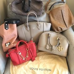 HUGE SALELV SALE!!! NOW AUTHENTIC OF COURSE!!! HUGE SALE RIGHT NOWselling a couple of my LV bags. If you see one you like Lmk in comments & I can post more pics & info for you!!! Any questions ? All authentic ONLY!! Like new condition! comes with everything!! Org LV dust bag, tags, lock + keys. Ship ASAP! Bundle to save even more!!! no trades!!!❌I DONT TRADE!!! serious buyers only please!!! MAKE ME A REASONABLE OFFER  LV LOCKIT MM, LV ALMA PM, SC BB, HOBO PINK, HOBO GRAY, SELENE Mahina…