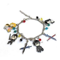 Amazon.com: Anime Pokemon Go Cartoon Bracelet For Women: Jewelry ($15) ❤ liked on Polyvore featuring jewelry, bracelets, animal jewelry, comic book, comic jewelry and cartoon jewelry