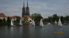 Water City Tour on Odra River, Wroclaw, Poland : http://www.carrentalwroclawairport.com