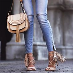 Fringe bags and boots collection http://www.justtrendygirls.com/fringe-bags-and-boots-collection/