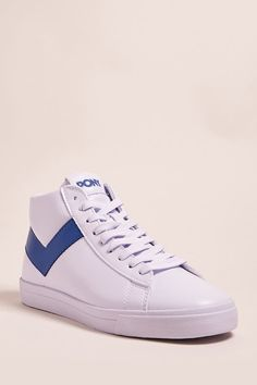 Product Name:Pony High-Top Faux Leather Sneakers, Category:Shoes, Price:70