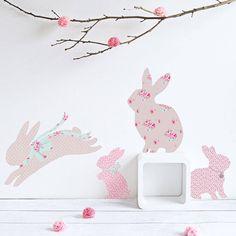 Children's Rabbit Wall Stickers