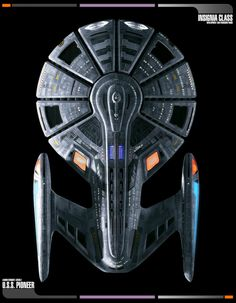 Insignia Class Top View by MarkKingsnorth on DeviantArt