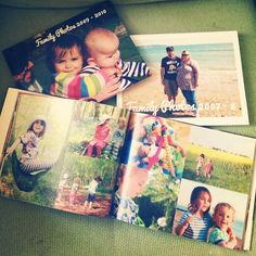 Making Family Photo Albums for each of my children. This is my Winter Plan