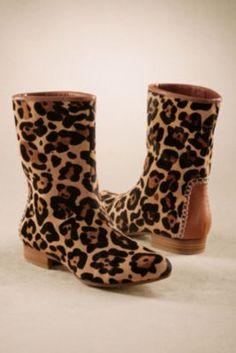 Leopard Bootie - Womens Leopard Print Boots, Women's Shoes   Soft Surroundings