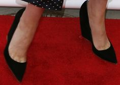 Rose Byrne Wears Boring Shoes with Two Amazing Outfits