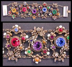 Love this Czech Bracelet...Pretty!