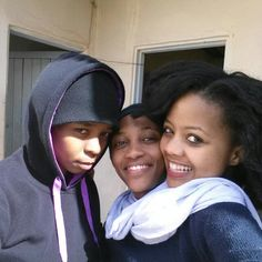Memme, Karabo and Sne... i got mad love for these three