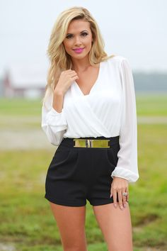 You And Me Forever Romper - Black by Closet Candy Boutique