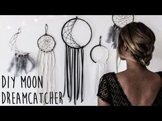 DIY: Super Easy Way to Make a Dreamcatcher | Step by step! Easy tutorial! - YouTube
