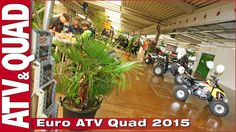 Video Euro ATV Quad 2015: Deutschlands ATV- und Quad-Messe Auf dem MotorLoft-Gelände in Saarlouis hat vom 25. bis 27. September mit der Euro ATV Quad 2015 Deutschlands einzige Messe für ATVs, Quads, Buggys, Side-by-Sides und UTVs stattgefunden http://youtu.be/CDP7dRn_eyU