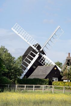 Bourn Windmill in Cambridgeshire, England is Britain's oldest surviving windmill  first recorded in 1636 but possibly older