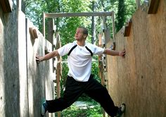 Chris, you will always be my favorite American Ninja Warrior America Ninja Warrior, Ninja Warrior Course, Crossfit Home Gym, At Home Gym, American Ninja Warrior Obstacles, Obstacle Course Training, Warrior Workout, Kids Gym, Jungle Gym