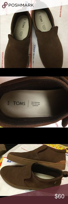 9adcbfc4faff TOMS Mens Paxton Suede Slip-On USA12 UK11 EU45 Excellent Condition Used TOMS