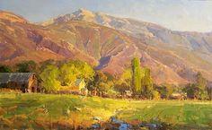 Utah Farm by Kathryn Stats - Greenhouse Gallery of Fine Art
