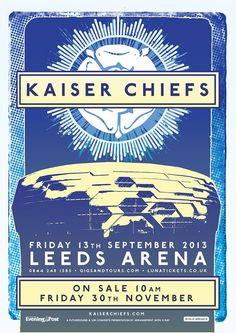 Kaiser Chiefs Leeds Arena 2013