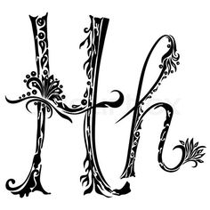 Letter H Tattoo Designs Letter H Designs Tattoo