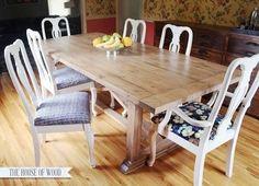 DIY Furniture : DIY Rustic Yet Refined Wood Finish