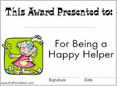 Kid Printables brings free online fun to kids including coloring pages, games, puzzles, bookmarks and Preschool Certificates, Award Certificates, Fun Printables For Kids, Online Fun, Creative Kids, Teaching Tools, Awards, Funny Quotes, Classroom