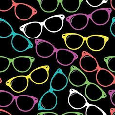 Hipster Shades by Adrianne Adelle , via Behance