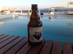 FIX-great greek taste, great greek product!! Greek Beer